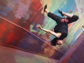 Cristina, danza verticale
