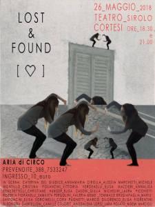 Lost & Found spettacolo di Aria di Circo al Teatro Cortesi di Sirolo